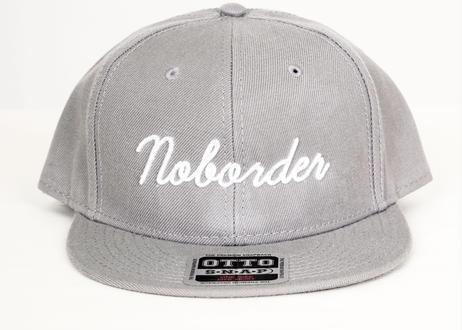 No border  スクリプトロゴ CAP #各色