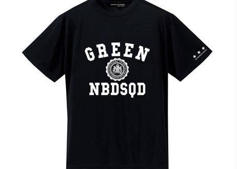 No border squad UVカットシルキーDRY Tシャツ NAVY / BLACK