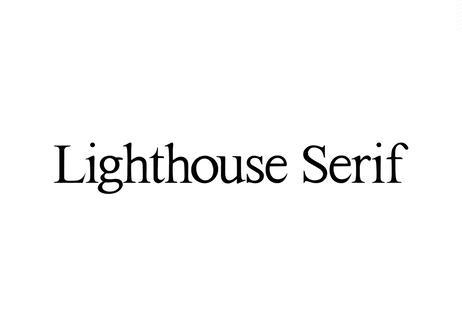 Lighthouse Serif