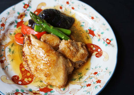 蔵王香鶏の万年煮~柚子胡椒風味~