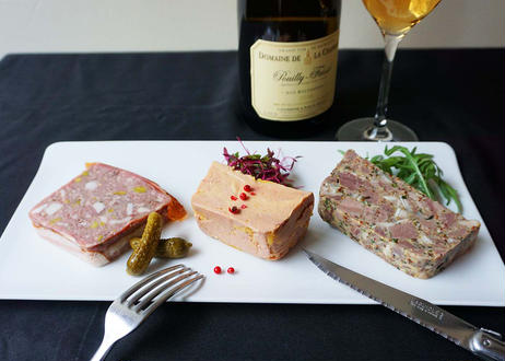 〈ワイン好きのための〉絶品テリーヌ 3種セット