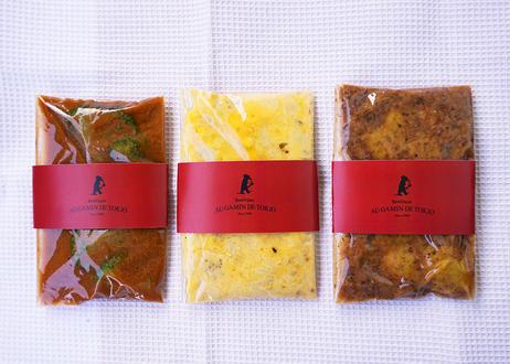 絶対旨い‼ギャマンのパスタソース3種【3袋入】