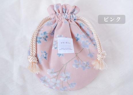 巾着ポーチ/丸型