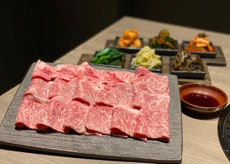 【限定8セット】         厳選田村牛焼肉500g       (タレ2種 付き)