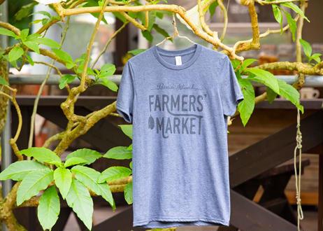 ファーマーズマーケット オリジナルTシャツ (グレー)