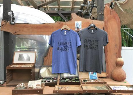 ファーマーズマーケット オリジナルTシャツ (ブルー)