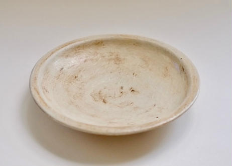 白化粧八寸皿