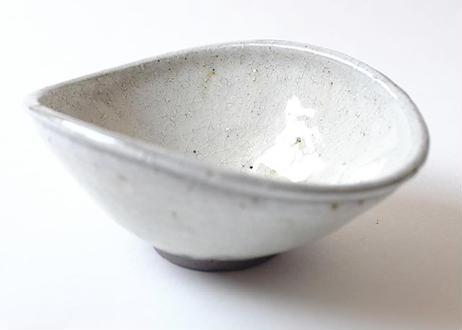 ガラス釉楕円小鉢