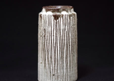粉引十草筒型フリーカップ