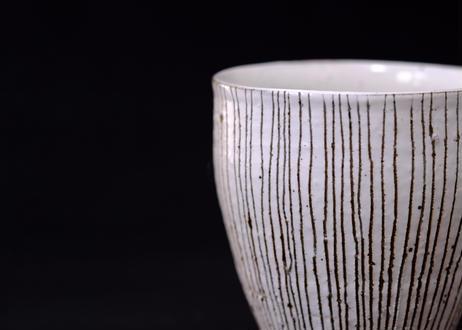 粉引十草フリーカップ大