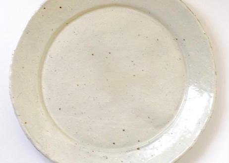 粉引八寸パスタ皿