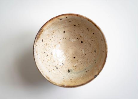 粉引碗 薪窯で焼成