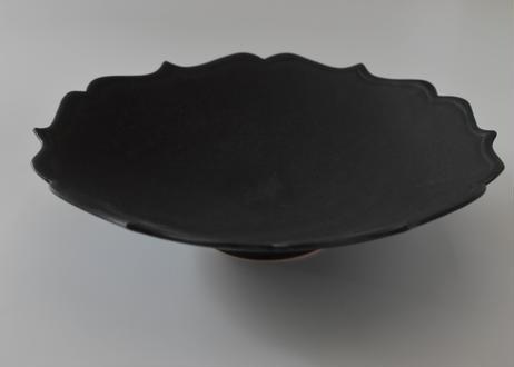 黒輪花鉢/木下和美