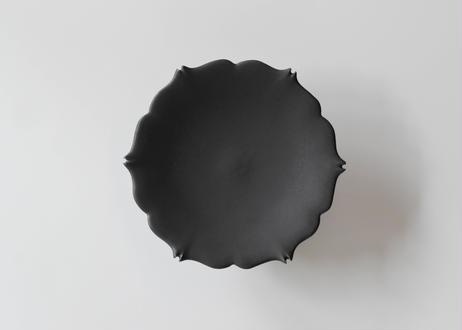 Azami菓子皿(脚付き)/木下和美