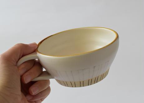 線紋スープカップ/cocochi