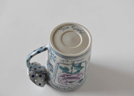 牡丹のマグカップ/スズキヨウコ