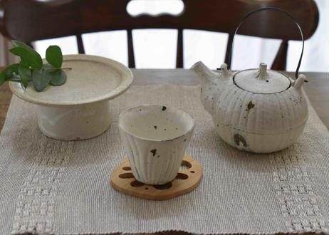 shiro moegi 土瓶(小)/村上直子
