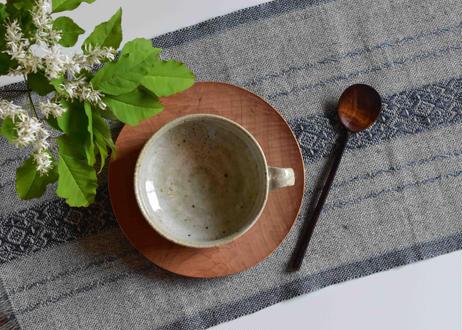 ミモザ釉 スープカップ/境道一