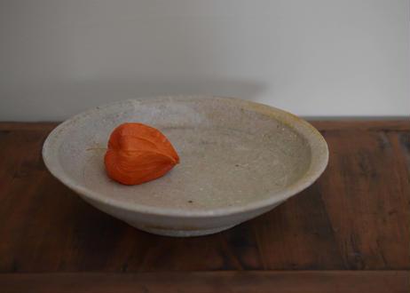 木灰釉 深鉢(大)/境道一