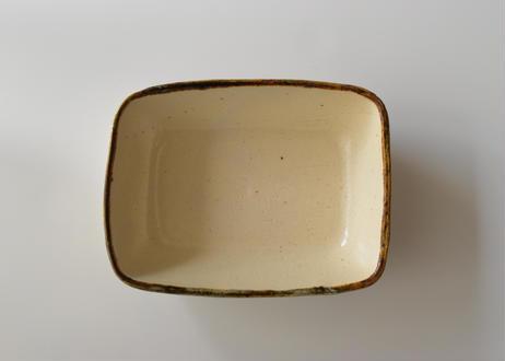 グラタン皿スタンダード白/奥村陶房