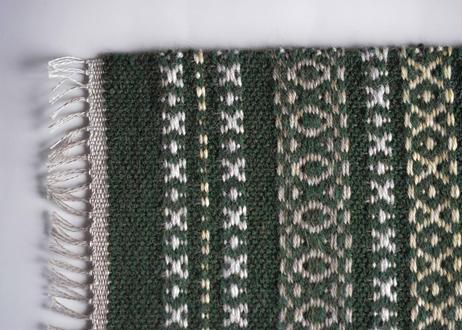 ウールマット 緑/織布gecko