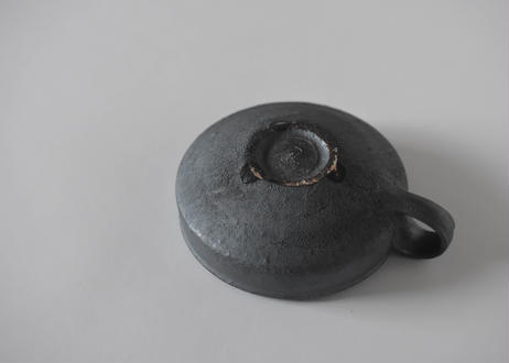 黒釉 スープカップ/境道一