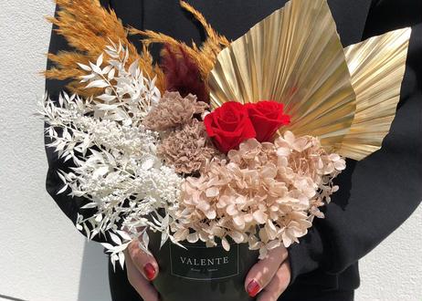 (S)Preserved  Flower arrangement [ RED ]