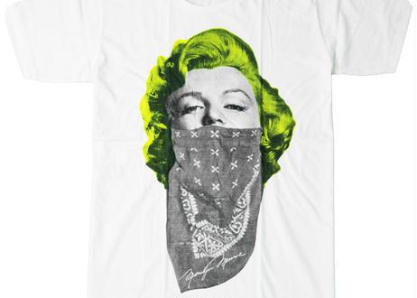 プリントTシャツ Marilyn Monroe マリリン モンロー バンダナ