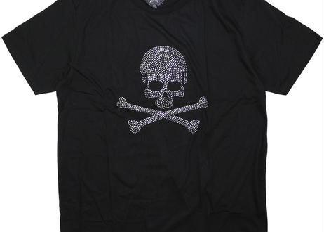 ラインストーン  スカルTシャツ  Skull rst-