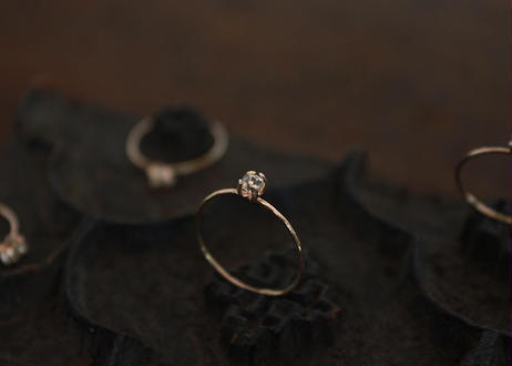 bud 蕾の指輪