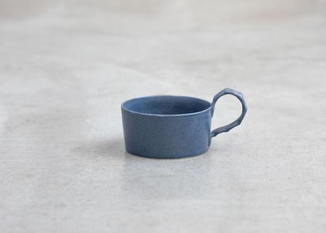 おとうふスープカップ( ブルーグレー/白)