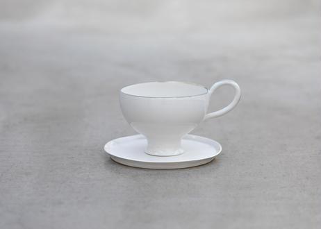 しらゆりカップアンドソーサ