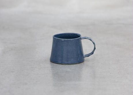 フレアマグカップ(ブルーグレー/白)