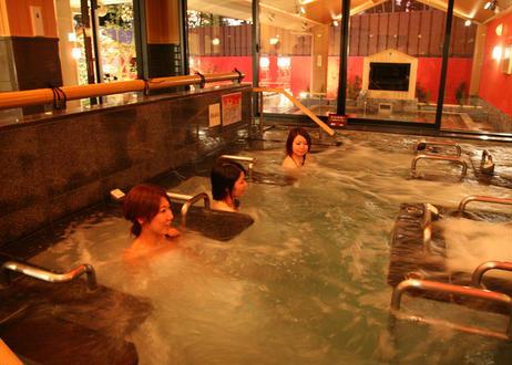 【土日祝限定】東香里湯元水春 レンタルタオルセット付ご入浴チケット