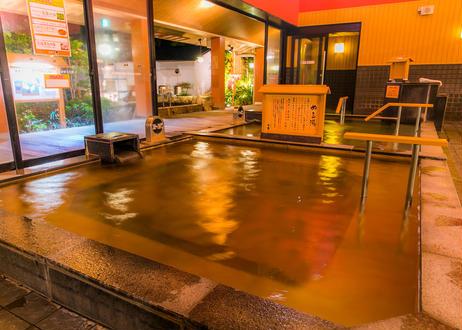 【平日限定】東香里湯元水春 レンタルタオルセット付ご入浴チケット