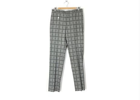 2019ss maison margiela gray check trousers dead stock