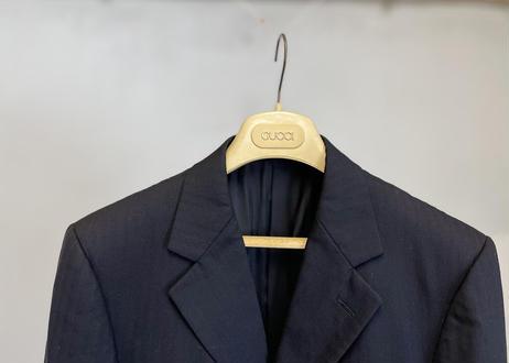 gucci stripe set up suit