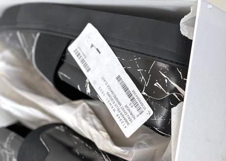 2019ss balenciaga veau effet marbre slip-on 40 dead stock