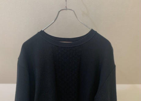 """90s  """"初期"""" y's for men panel pattern knit"""