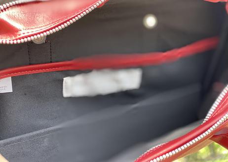 robe de chambre comme des garcons leather bag