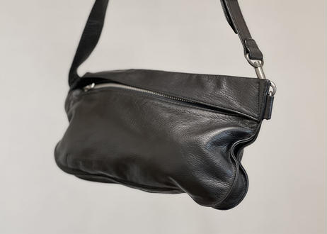 issey miyake leather shoulder bag