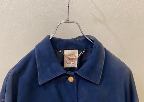 80s loewe leather jacket
