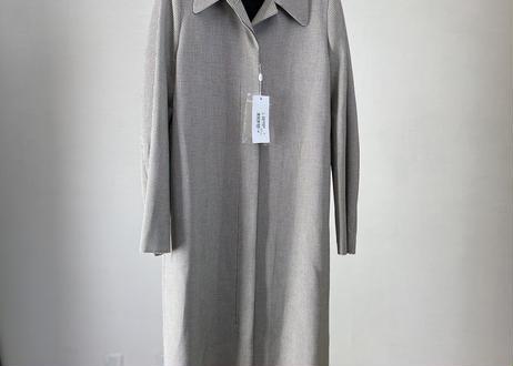 mm6 maison margiela check long coat