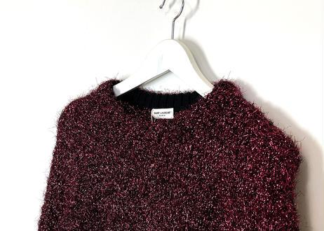 2019aw saint laurent knit dead stock