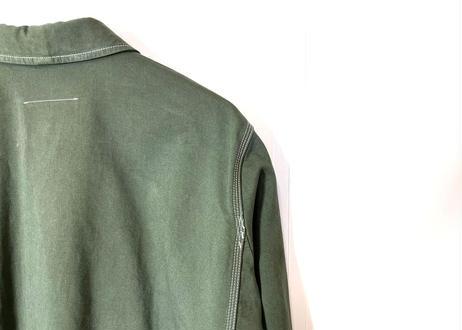 2019ss mm6 maison margiela spring coat green dead stock