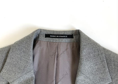yves saint laurent made in france jacket