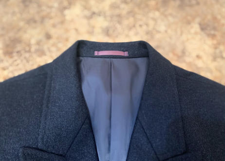 90s pure cashmere chester chesterfield coat
