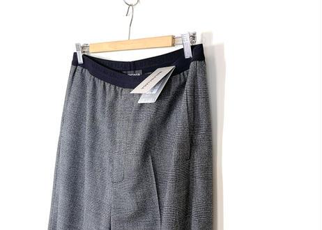 2019ss balenciaga eazy check wide trousers dead stock