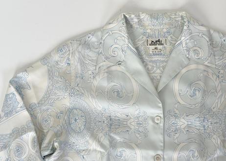 hermes tuileries silk shirt