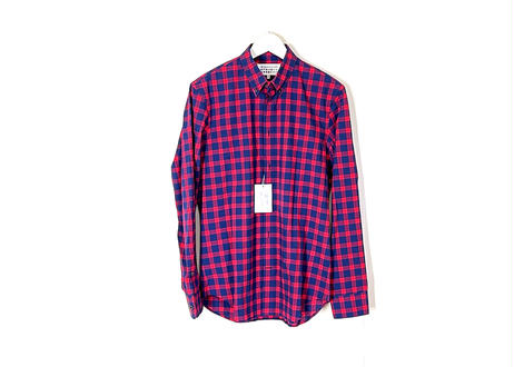 2018ss maison margiela check shirt dead stock